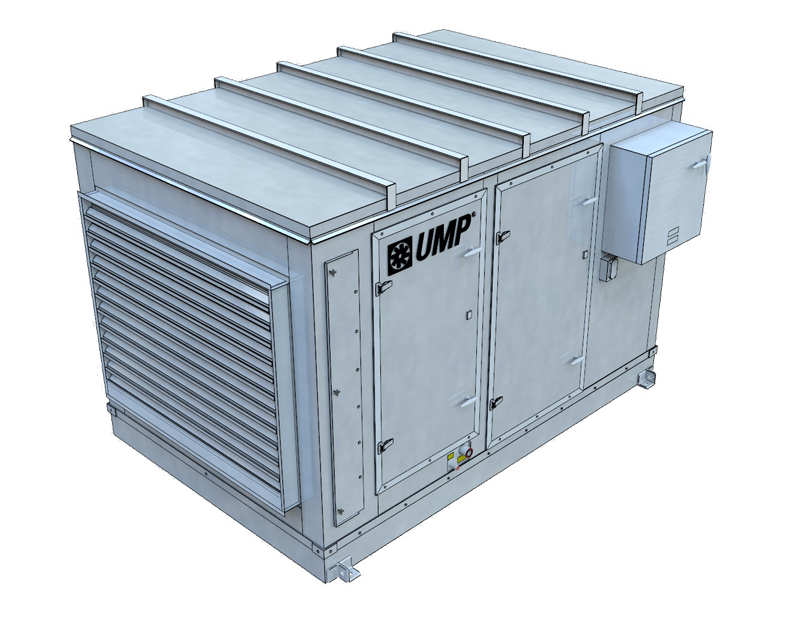 Air Handling Evaporative Cooling : Cel air evaporative coolers by united metal products