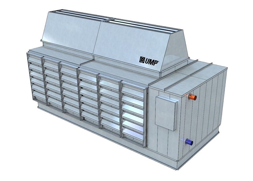 DC-AHCe - Warm Water Compressor-Free Chiller Solution
