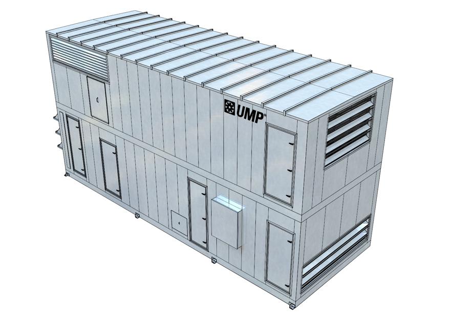 DC-XRA Cross-Flow Heat Exchanger