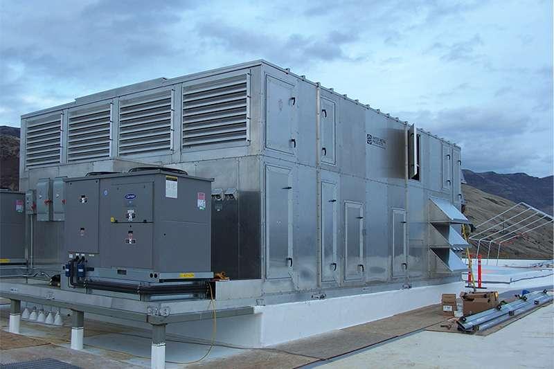 DC-XRA - Cross-Flow Heat Exchanger